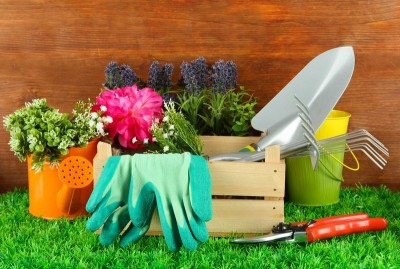 Základní nářadí pro práci na zahradě, zdroj: shutterstock.com